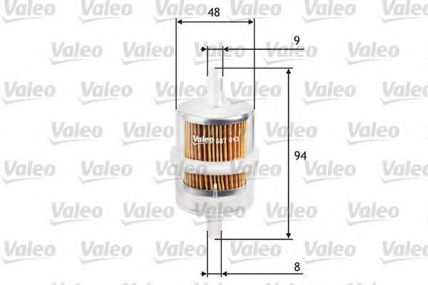 Фильтр топливный VALEO 587013