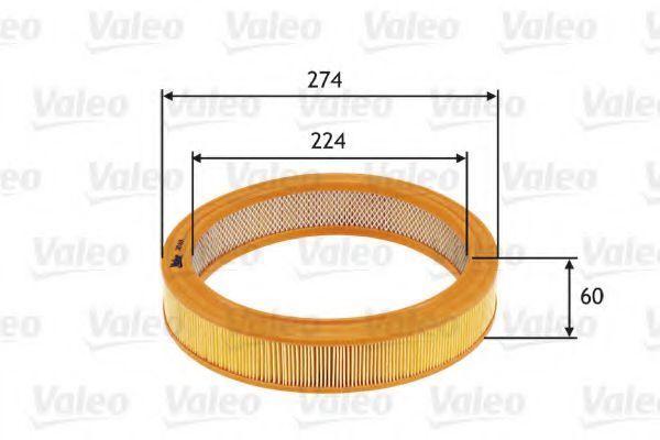 Воздушный фильтр VALEO 585619