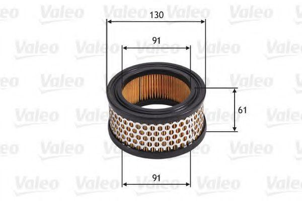 Воздушный фильтр VALEO 585702