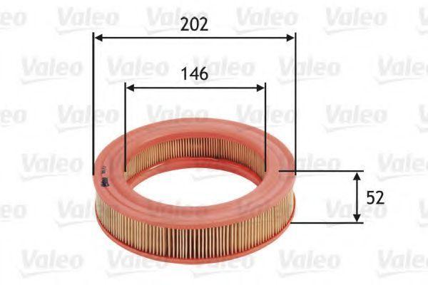 Фильтр воздушный VALEO 585717