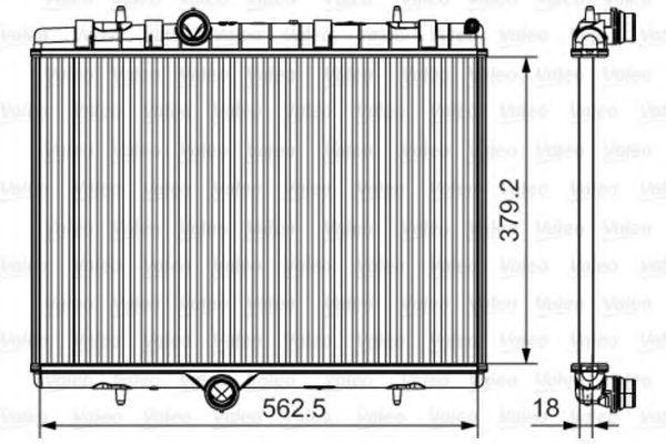 Радиатор охлаждения VALEO 701507