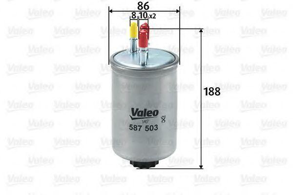 Фильтр топливный VALEO 587503