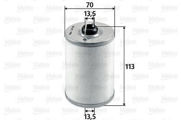Фильтр топливный VALEO 587920
