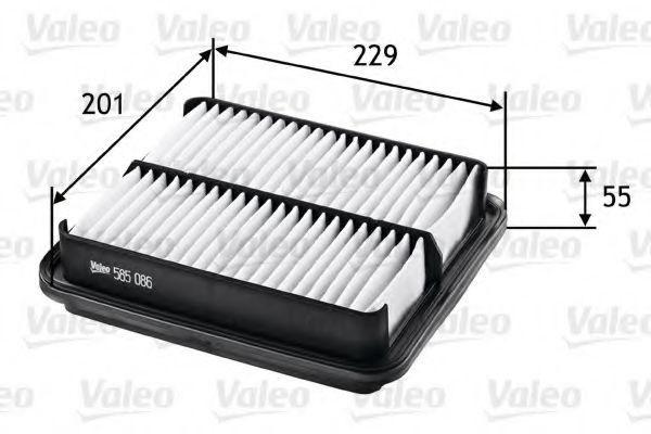 Фильтр воздушный VALEO 585086