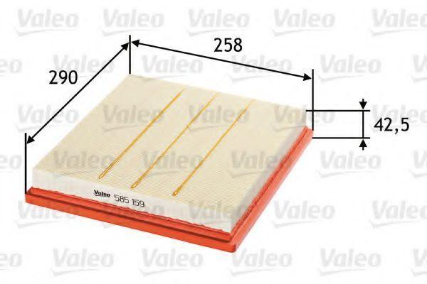 Фильтр воздушный VALEO 585159