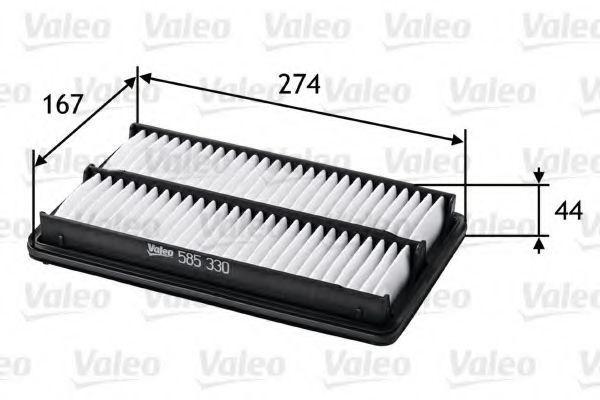 Фильтр воздушный VALEO 585330