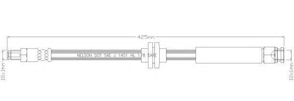 Тормозной шланг REMKAFLEX 6035