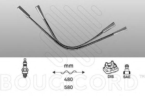 Комплект проводов зажигания Bougicord 3104