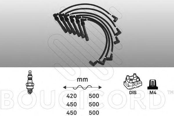 Комплект проводов зажигания Bougicord 8109