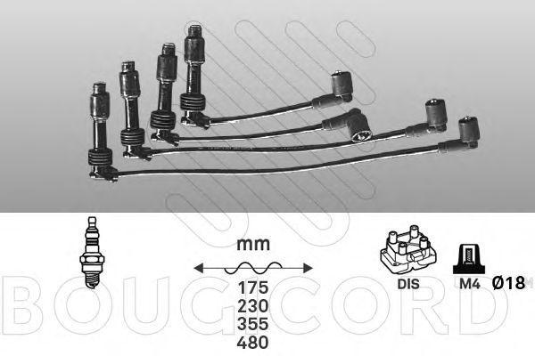 Комплект проводов зажигания Bougicord 5101