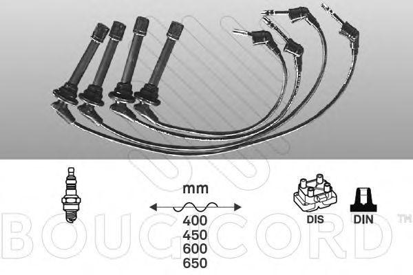 Комплект проводов зажигания Bougicord 7209