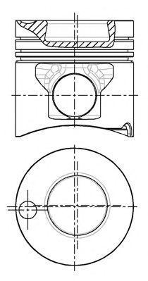 Поршень двигателя NURAL 87-179300-15