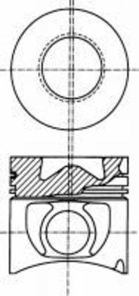 Поршень двигателя NURAL 87-289300-00