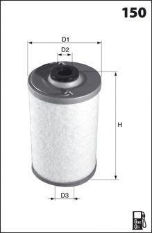Топливный фильтр MECAFILTER ELG5510