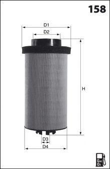 Топливный фильтр MECAFILTER ELG5517