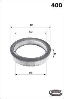 Воздушный фильтр MECAFILTER EL3251