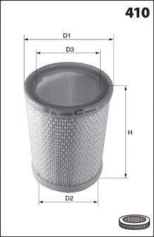 Воздушный фильтр MECAFILTER EL3674