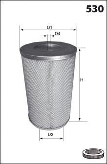 Воздушный фильтр MECAFILTER FA3698