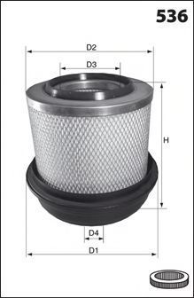 Воздушный фильтр MECAFILTER FA3431
