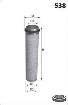 Фильтр добавочного воздуха MECAFILTER FA3407