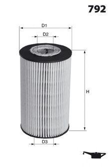Масляный фильтр MECAFILTER ELH4429