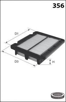 Воздушный фильтр MECAFILTER ELP9265