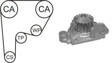 Насос водяной с ремнем и роликом ГРМ AIRTEX WPK136801