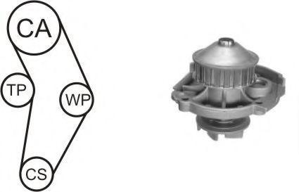Насос водяной с ремнем и роликом AIRTEX WPK152301