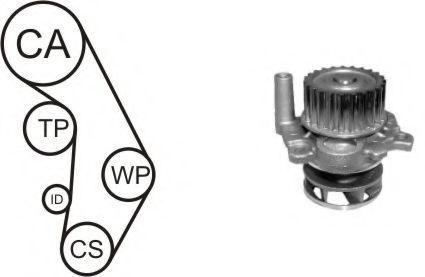 Ремкомплект ремня ГРМ + насос водяной AIRTEX WPK-937705