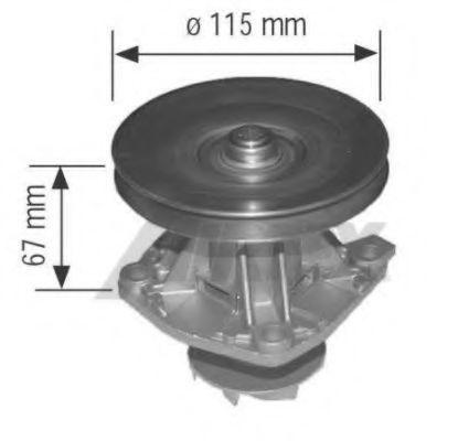 Насос водяной AIRTEX 1205-1