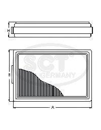 Фильтр топливный SCT ST 6005