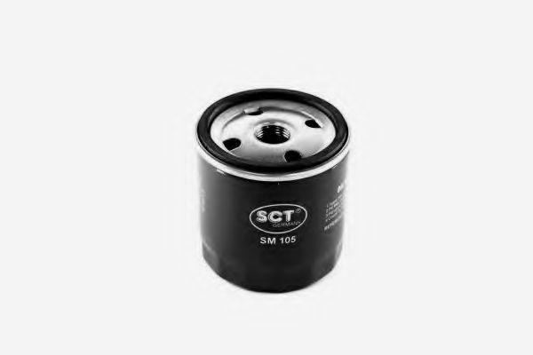 Фильтр масляный SCT SM 105