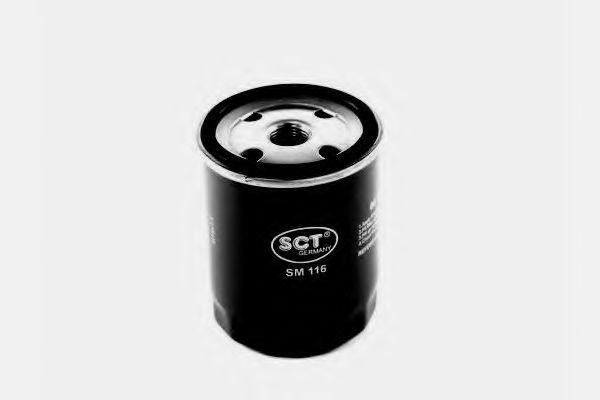 Фильтр масляный SCT SM116