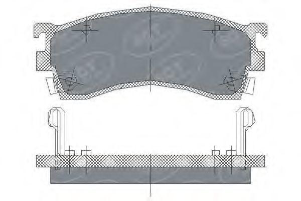 Колодки тормозные SCT SP 125 PR