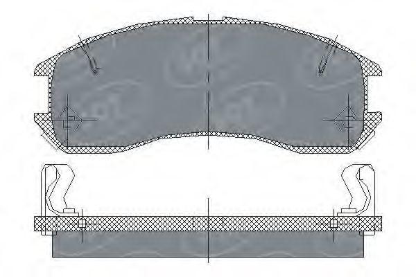 Колодки тормозные SCT SP 149 PR