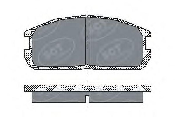 Колодки тормозные ProfiLine SCT SP 220 PR