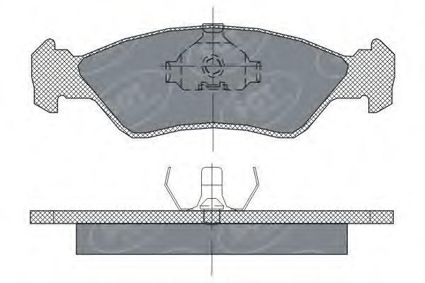 Колодки тормозные ProfiLine SCT SP 236 PR