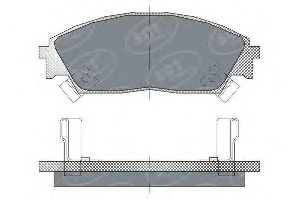 Колодки тормозные ProfiLine SCT SP 238 PR