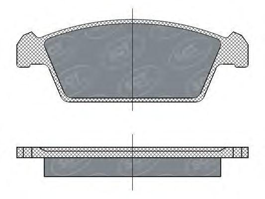 Колодки тормозные ProfiLine SCT SP 264 PR