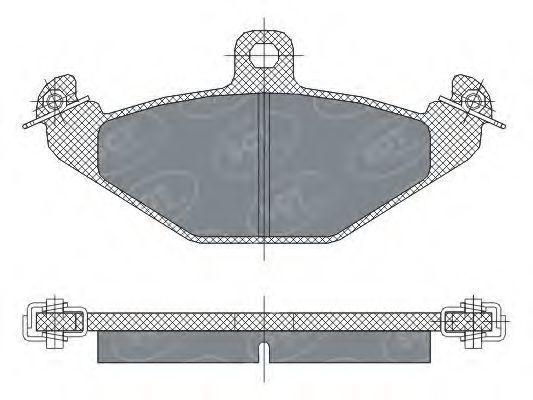 Колодки тормозные ProfiLine SCT SP 298 PR