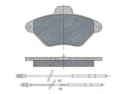 Колодки тормозные SCT SP 299 PR