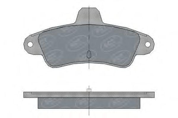 Колодки тормозные ProfiLine SCT SP304PR