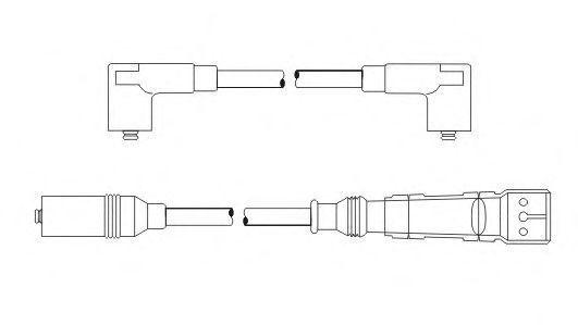 Провода высоковольтные комплект SCT PS6561