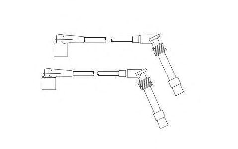 Провода высоковольтные комплект SCT PS 6672