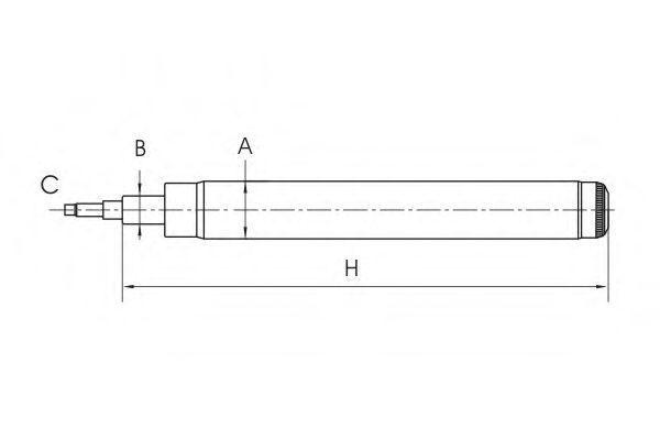 Амортизатор подвески SCT Z8612