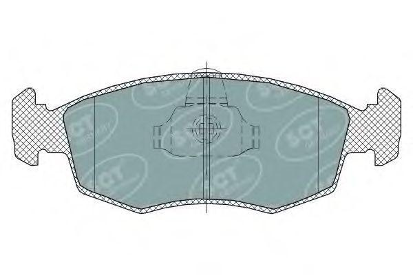 Колодки тормозные SCT SP315PR
