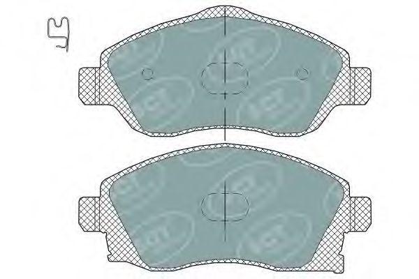 Колодки тормозные ProfiLine SCT SP 320 PR