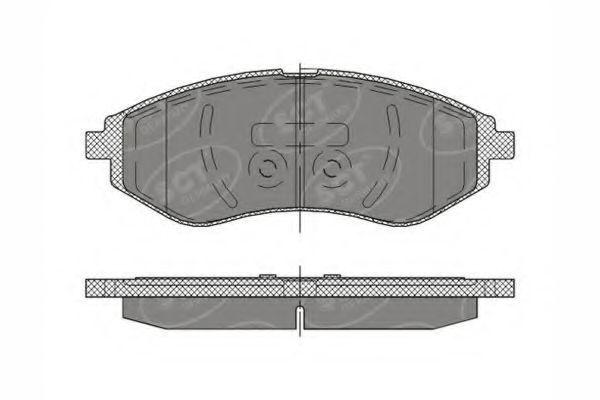 Колодки тормозные SCT SP290PR