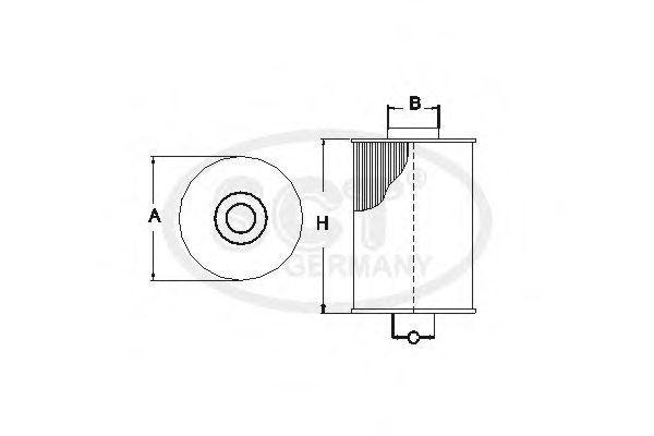 Фильтр топливный SCT SC7063P