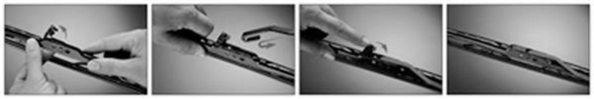 Щетка стеклоочистителя задняя Exact Fit 380мм TRICO EF380